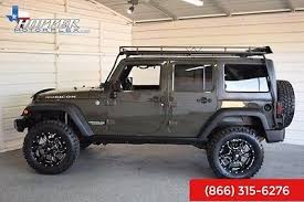 jeep tank for sale 2015 jeep wrangler unlimited rubicon lifted 45989 miles tank