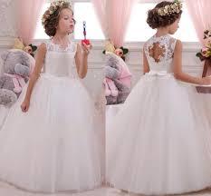 dresses for thanksgiving 2017 sale princess flower u0027s dresses white ivory floor