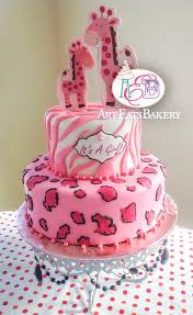 cheetah baby shower cakes party xyz