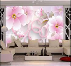paper towel holder crafts picture more detailed picture about 3d 3d wall murals hd pink flowers wall paper high end mural for tv