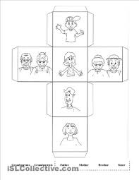 13 best images of my family preschool worksheet my family