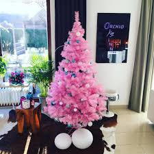 pink christmas tree pink christmas tree ideas popsugar home