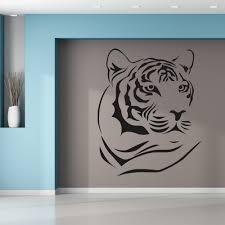 28 tiger wall stickers tiger wall decal big cat sticker tiger wall stickers wallstickers folies tiger wall stickers
