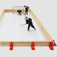 Backyard Hockey Rink Kit by Ice N U0027go Pro Residential Ice N U0027go