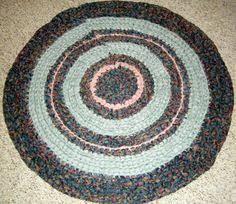Handmade Rag Rugs For Sale Handmade Rag Rug In Shades Of Peach For By Karenhugheskreations
