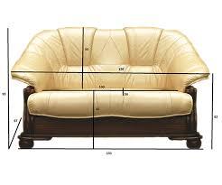 Corner Sofa Ebay Loretto 3 2 Seater Real Italian Leather Sofa Bed In Brown Or Light