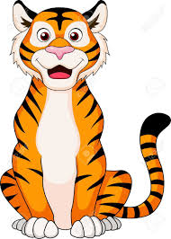 cartoon tiger clipart cute collection