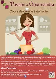 affiche atelier cuisine gourmandise lance une nouvelle activité centre