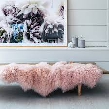 Mongolian Lamb Cushion Mongolian Sheepskin Rugs And Throws Hides Of Excellence