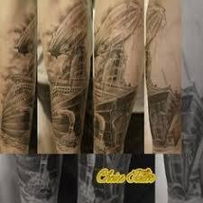 christian tattoo köln newschool steunk cologne coloniaink tattoo biomech biomechanic