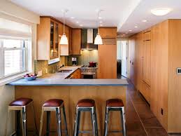 Small Kitchen Design Idea Breakfast Bar Ideas For Small Kitchens Boncville Com