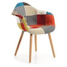 fauteuil de cuisine kave home fauteuil kevya patchwork amazon fr cuisine maison