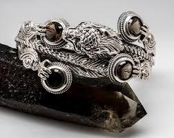 dragon bracelet silver images Silver dragon bracelet 1 of 1 gems jpg