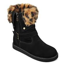 guess boots womens g by guess womens boots amaze fauxfur cold weather booties in