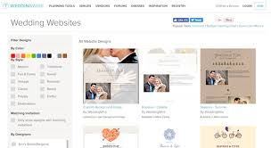wedding web the best wedding website builders onefabday
