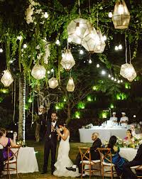 romantic cliffside bali wedding trish sid gold lanterns
