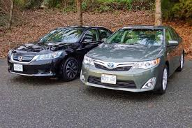 2014 honda accord hybrid vs 2014 toyota camry hybrid autos