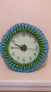 Art Wall Clock by 121 Best Quilling Clocks Images On Pinterest Filigree