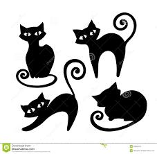 black cat template diy cat template etsy studio 10 fun family