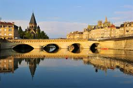 Metz France Map by Metz Travel Lonely Planet