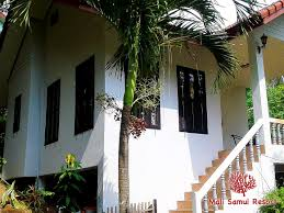 mali samui resort in lamai bungalows with swimming pool