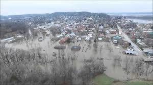 Flooding Missouri Map Overhead View Hermann Missouri Flood December 30th 2015 Youtube
