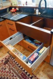 kitchen sink cabinet storage ideas creative sink storage ideas hative