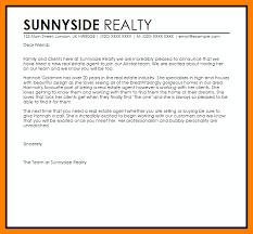 new real estate agent announcement letter resignation letter for