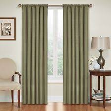 Lime Green Blackout Curtains Green Curtains Drapes And Valances Ebay