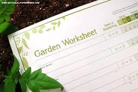 free printable garden planning worksheet helpful tips to get