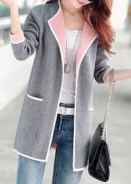 cardigan sweaters sleeve open front grey cardigan rotita com usd 33 83