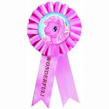 my pony ribbon my pony party supplies award ribbon at toystop