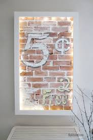 How To Paint A Faux Brick Wall - faux brick wall art my altered state hometalk