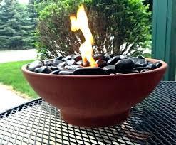 Gel Firepit Tabletop Gel Bowl The Concrete Pit Bowl Diy Tabletop Gel