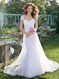 cheap bridal gowns gamo cap sleeve cheap wedding dresses china a line lace