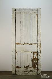 old painted pitch pine 6 panel door