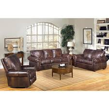 Sofa And Recliner Kingston Top Grain Leather Sofa Loveseat And Recliner Living Room