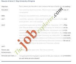 Resume Curriculum Vitae Example by How To Write A Nursing Curriculum Vitae