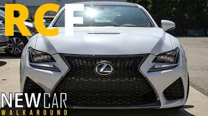 lexus rc f manual 2015 lexus rcf walkaround youtube