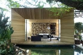 outdoor indoor library office area interior design ideas