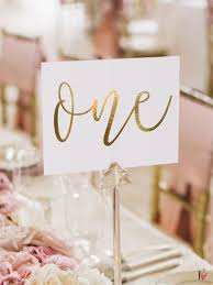 wedding table number ideas table numbers for weddings isura ink