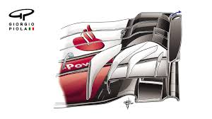 ferrari front drawing tech insight ferrari u0027s mexico mods
