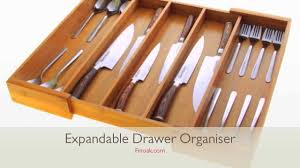 Knife And Fork Drawer Insert 1059 Expandable Flatware And Drawer Organiser Cutlery Tray