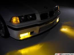 bmw e36 fog light bracket ziza 005723ziz01kt european yellow fog light set