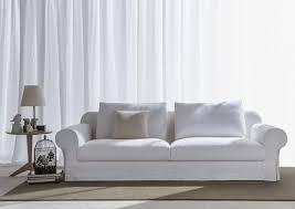 canapé classique tissu canapé classique avec assise profonde berto shop