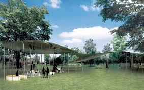 bureau de change la d馭ense sanna serpentine pavilion architecture pavilion