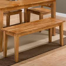 Dining Table 4 Chairs And Bench Jofran 352 60 352 14kd 4x352 806kd Simplicity Honey 6 Piece Dining