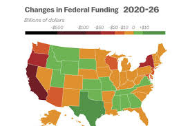 Red And Blue State Map by Blue States Face Steep Cuts Under Graham Cassidy Red States Reap