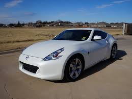 for sale a 2011 nissan 370z coupe in pearl white with 25 169