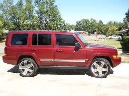 red jeep commander speedwhite 2008 jeep commandersport utility 4d specs photos